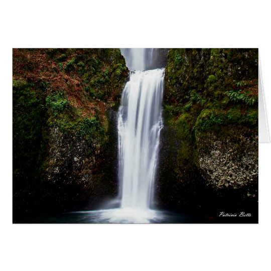 Multnomah Falls Card