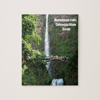 Multnomah Falls, Columbia River Gorge Jigsaw Puzzle