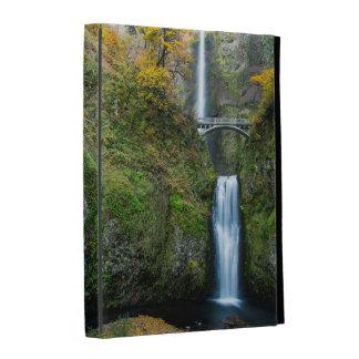 Multnomah Falls In Autumn In The Columbia Gorge iPad Case