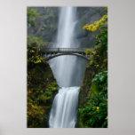 Multnomah Falls in Fall Print
