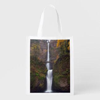 Multnomah Falls in late Autumn Market Tote