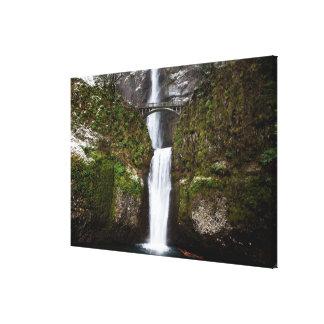 Multnomah Falls in the Columbia Gorge Canvas Print