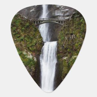 Multnomah Falls in the Columbia Gorge Guitar Pick
