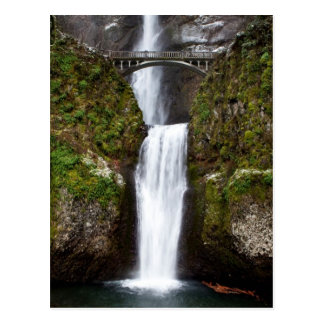 Multnomah Falls in the Columbia Gorge Postcard