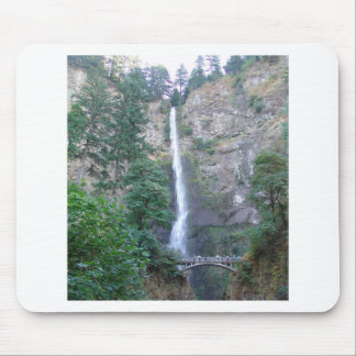 Multnomah Falls  in the Oregon Gorge Mouse Pad