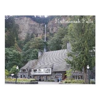 Multnomah Falls Lodge Travel Photo Postcard