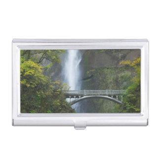 Multnomah Falls, Oregon Business Card Case