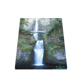 Multnomah Falls, Oregon Canvas Print