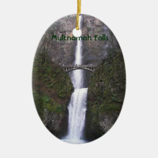 Multnomah Falls, Oregon Ceramic Ornament