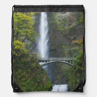Multnomah Falls, Oregon Drawstring Backpack