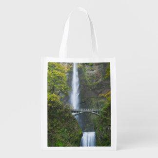 Multnomah Falls, Oregon Grocery Bags