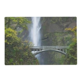 Multnomah Falls, Oregon Placemat at Zazzle