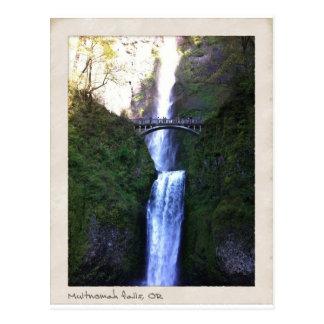 Multnomah Falls, Oregon Postcard