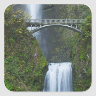 Multnomah Falls, Oregon Square Sticker