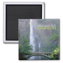 Multnomah Falls Oregon Travel Souvenir Magnet