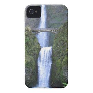 Multnomah Falls Oregon-USA v1 iPhone 4 Cover
