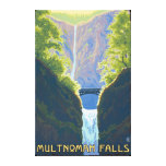 Multnomah Falls, OregonMaiden of the Falls Canvas Print