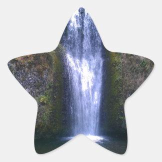 Multnomah Falls Star Sticker