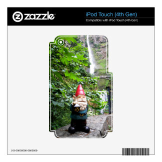 Multnomah Gnome III iPod Touch 4G Decal