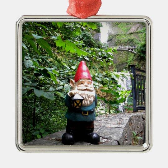 Multnomah Gnome III Metal Ornament