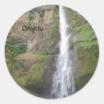 Multomah Falls Photography Sticker