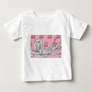 Mum and Bub Owls 4 T-shirt