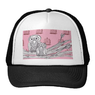 Mum and Bub Owls 4 Trucker Hat