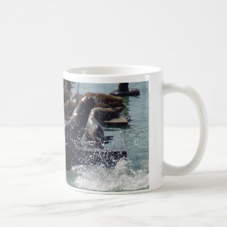 Mum & baby Sea Lion Coffee Mug