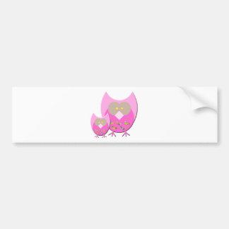Mum & Bub owl Bumper Sticker