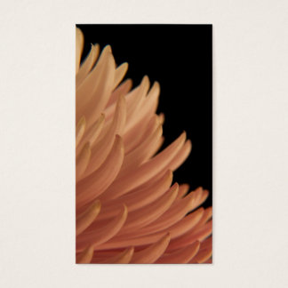 Mum Chrysanthemum Pink Flower Business Card