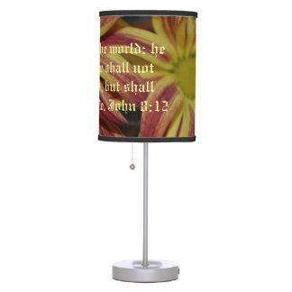 Mum Flowers Bible Verse  Heavens Peace Destiny Lamps