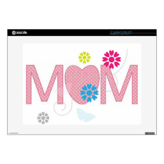Mum Hearts And Flowers Laptop Skins