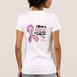 Mum Hero in My Life Breast Cancer Tee Shirts
