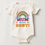 Mum Is the Best Baby Bodysuit