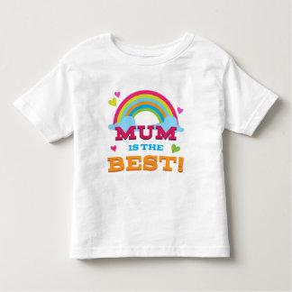 Mum Is the Best Toddler T-shirt