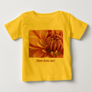 Mum loves me infant shirt 2