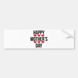 Mum / Mom / Mommy / Maman / Mamma / Mama Car Bumper Sticker