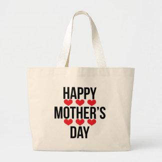 Mum / Mom / Mommy / Maman / Mamma / Mama Large Tote Bag