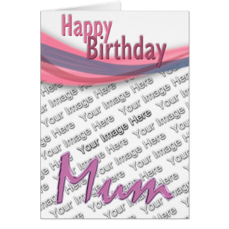 Mum Pictured Card