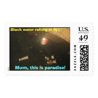 Mum, this is paradise!, postage stamps