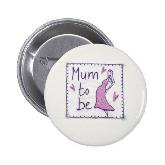 Mum to Be Bade Button