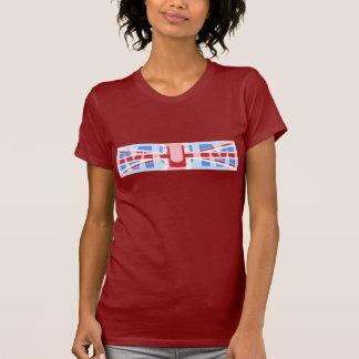 MUM, union Jack design T-Shirt