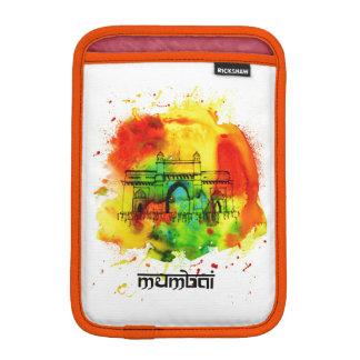 mumbai gateway of india bright watercolors sleeve for iPad mini