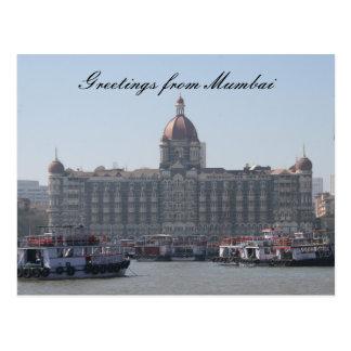 mumbai greetings postcard