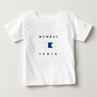 Mumbai India Alpha Dive Flag Baby T-Shirt