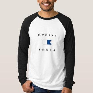 Mumbai India Alpha Dive Flag T Shirt
