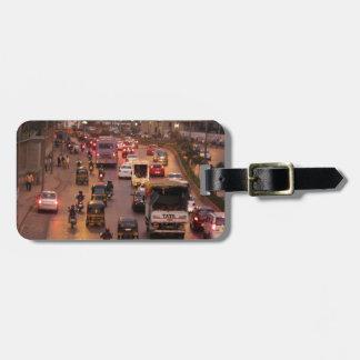 Mumbai street bag tag