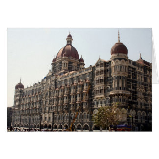 mumbai taj hotel card