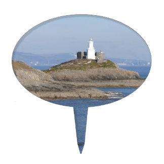 Mumbles Lighthouse, Mumbles Cake Topper