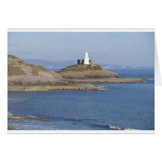 Mumbles Lighthouse, Mumbles Card